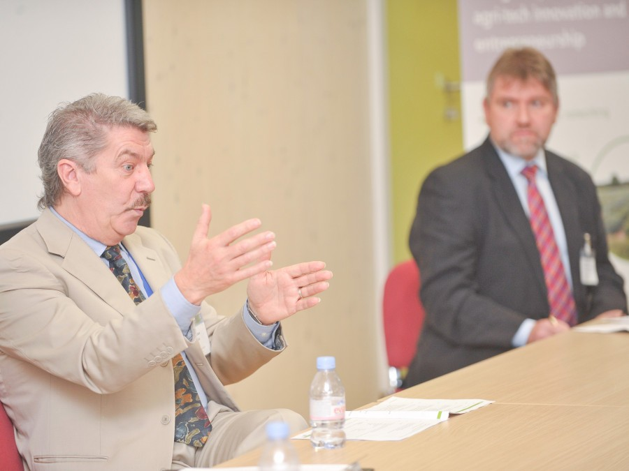 Bill Clark and Colin MacEwan at REAP