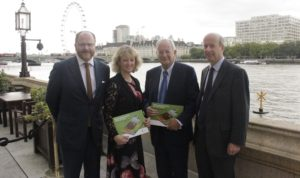 George Freeman MP, Belinda Clarke, Lord Sainsbury of Turville, John Shropshire WEB