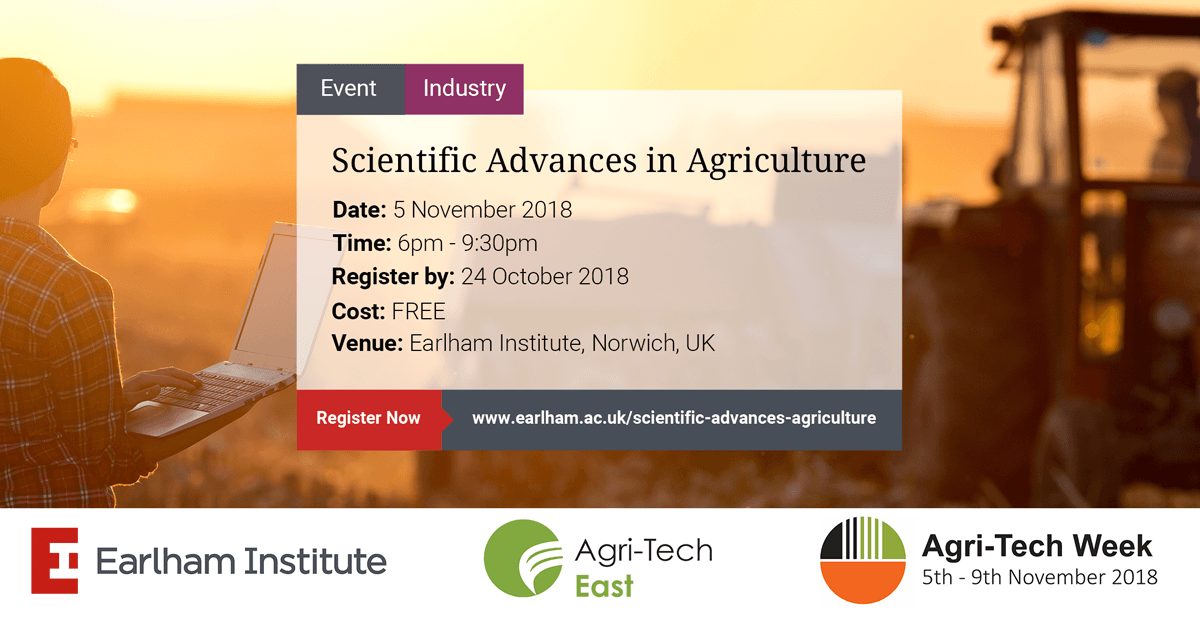 Earlham Institute Agri-Tech Week event