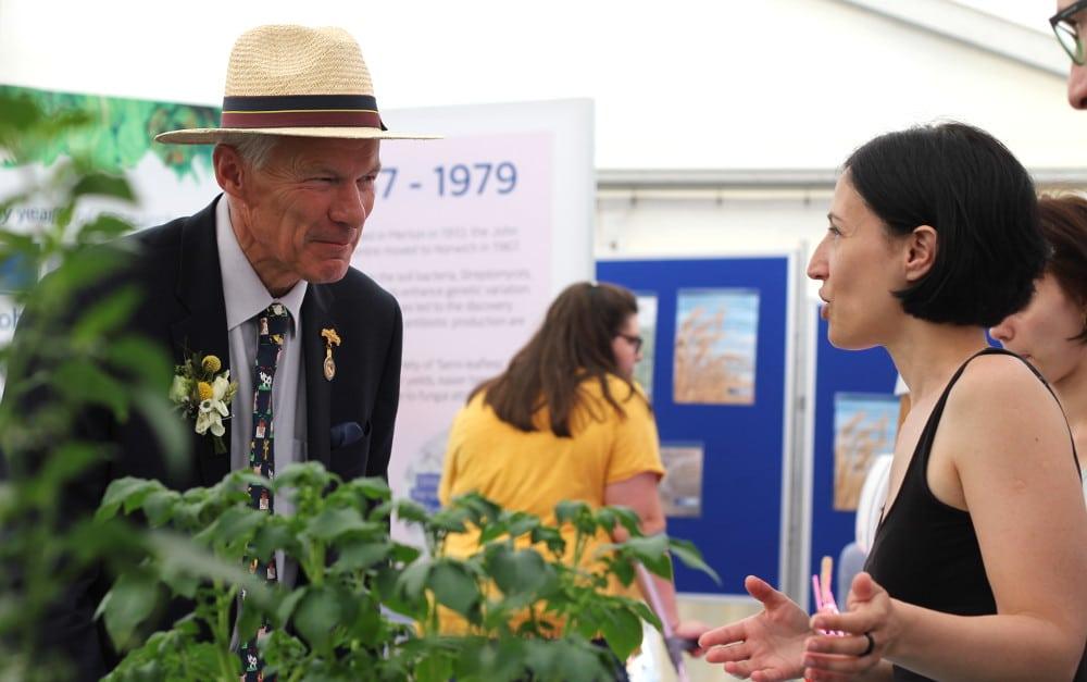 RNAA President Ben Turner talks to Marina Pais from The Sainsbury Laboratory