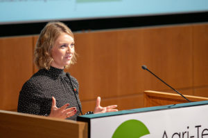 Elizabeth Creed, Receptive Technologies, in the REAP 2018 Start-Up Showcase