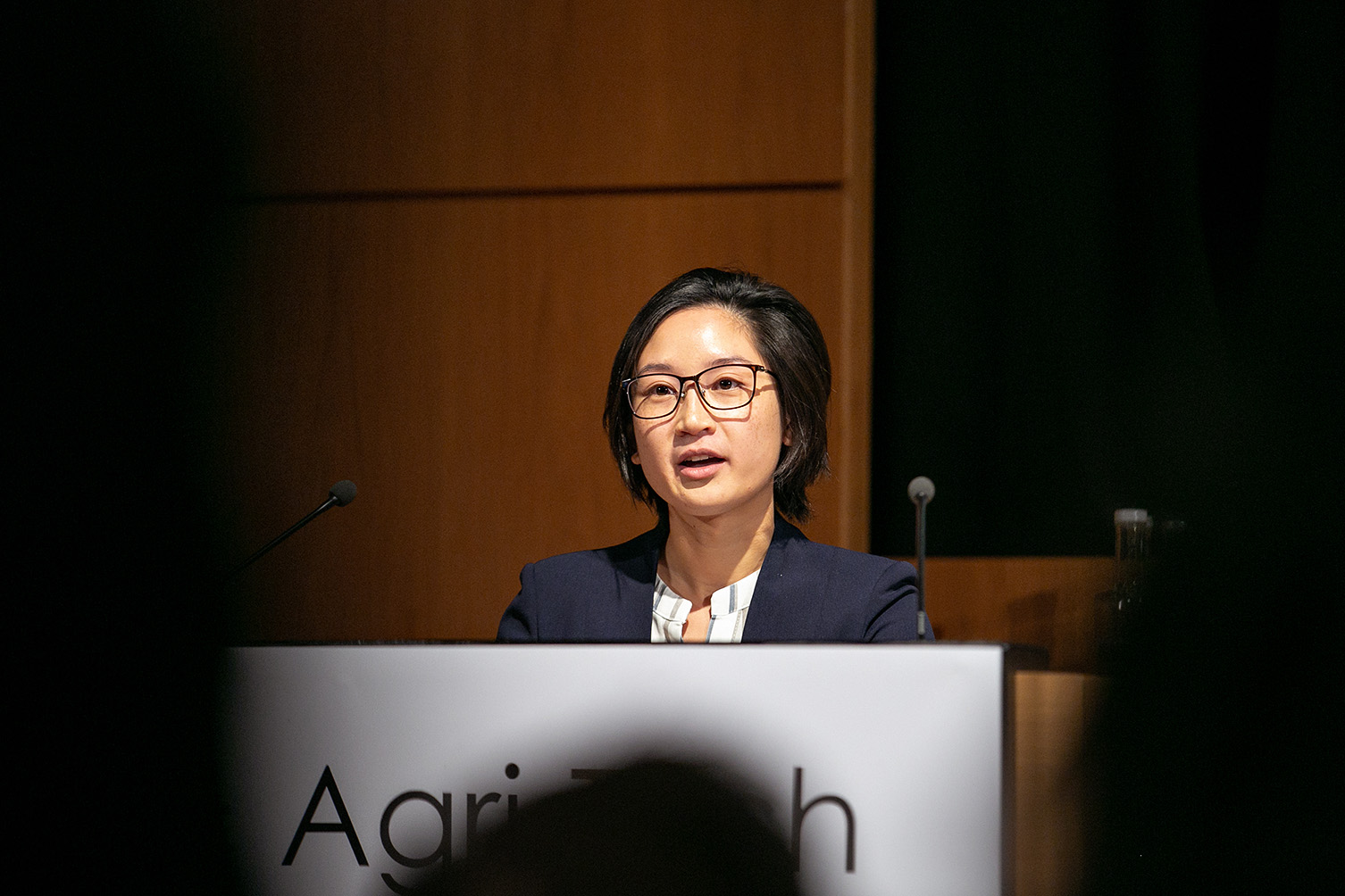Jacqui Poon, Farming Data, in the REAP 2018 Start-Up Showcase