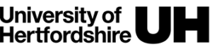 University of Hertfordshire logo black