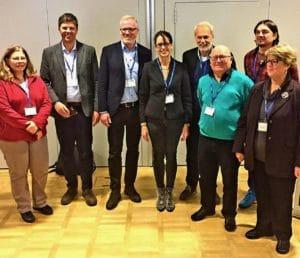 ENAJ committee members Dec 2018