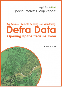 Big Data and Remote Sensing and Monitoring: Opening DEFRA's Treasure Trove