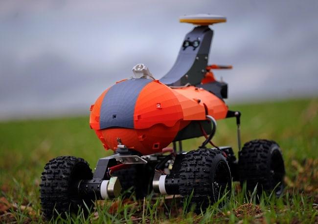 swarm robotics Small Robot Company - Tom monitoring robot prototype
