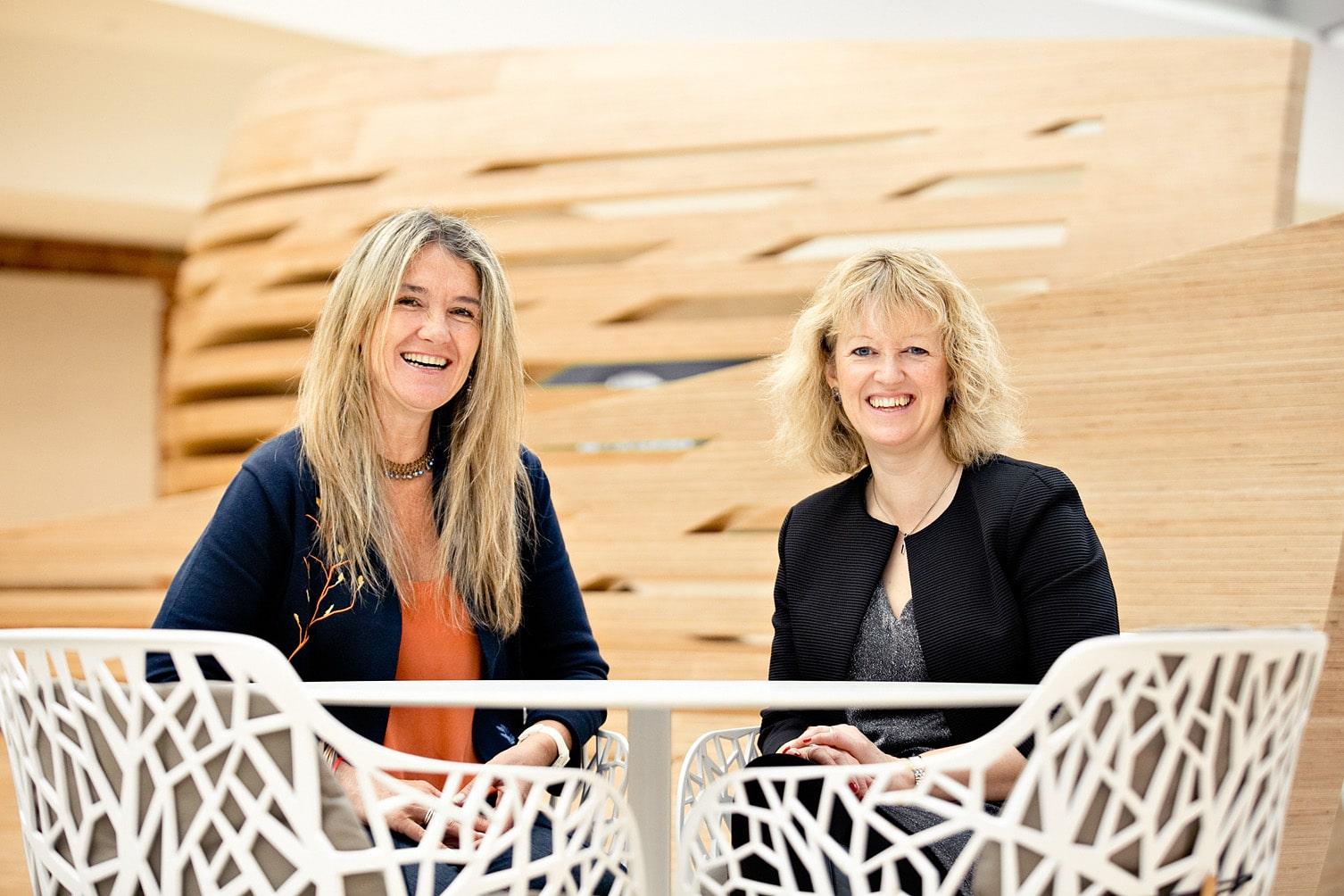 Maria Giraudo and Belinda Clarke