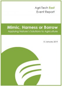 Mimic, Harness or Borrow; Applying Nature's Solutions to Agriculture