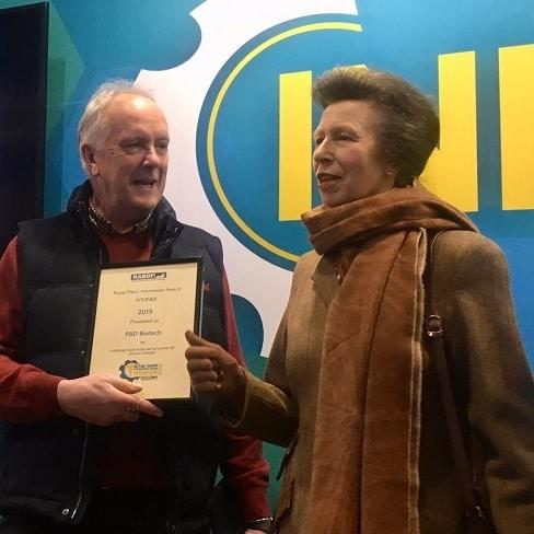 PBD Biotech win Royal Dairy Innovation Award 2019