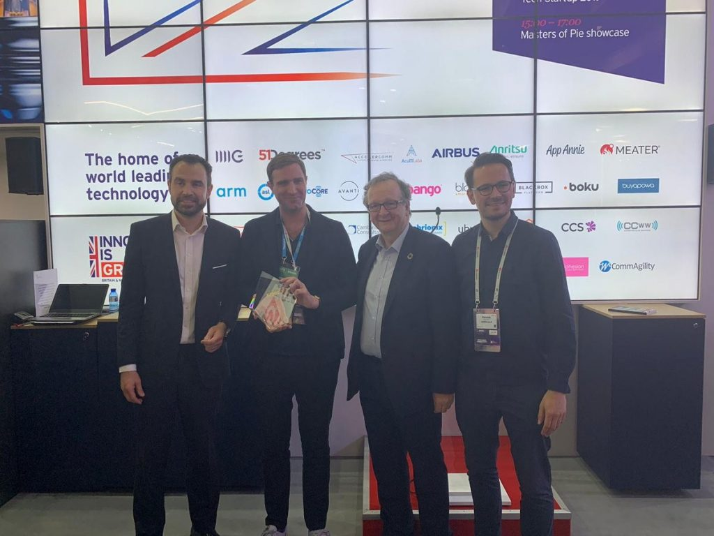 Hummingbird Technologies wins Best British Tech Startup 2019 award