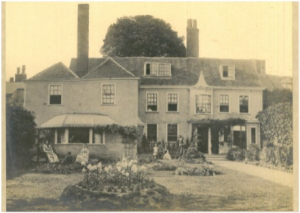A vintage photo of the Bland Fielden Offices at Sir Issac's Walk, circa 1926