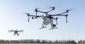 Drones are increasingly being used to monitor orchards