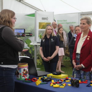 HRH Countess of Wessex at agri-tech Innovation Hub