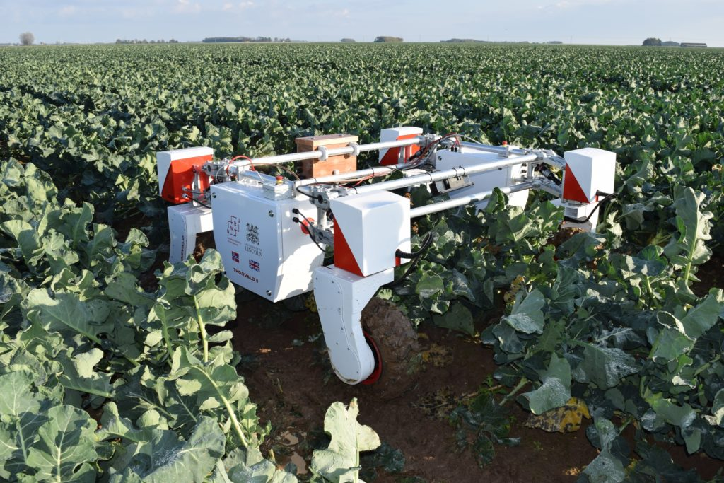 Transforming Food ProductionThorvald-robot-in-field-credit University-of-Lincoln