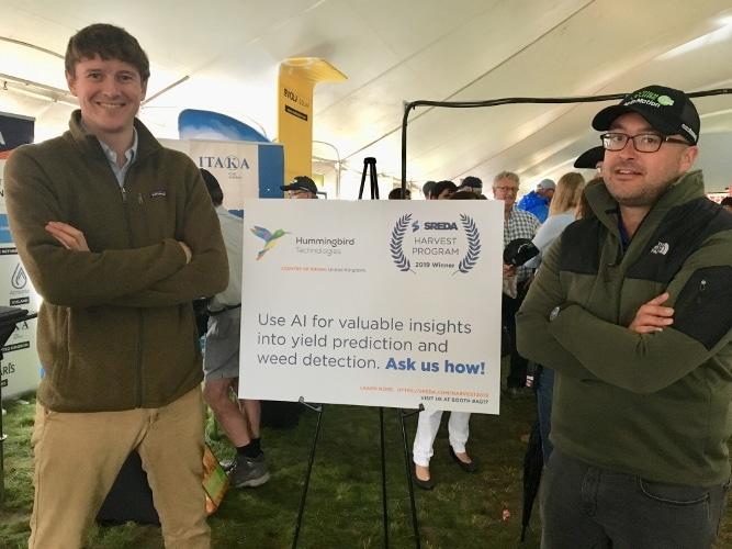 Hummingbird at Ag in Motion 2019 - Arthur Soames and Matt Kettlewell