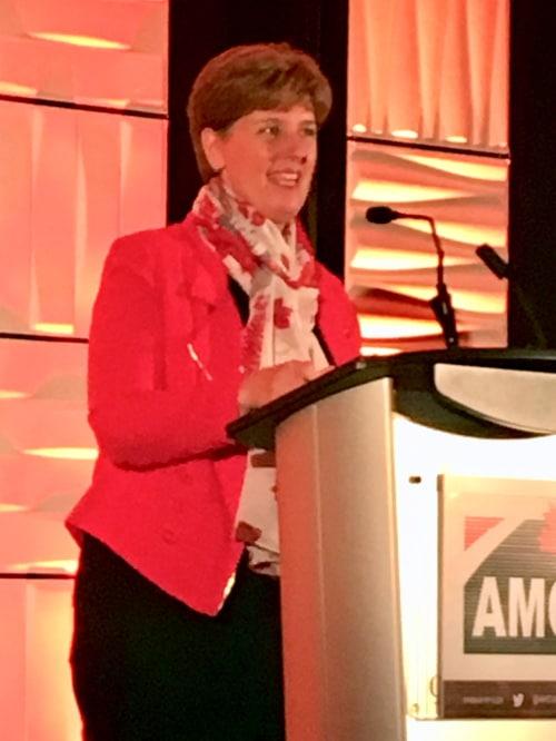 Marie-Claude Bibeau, the Federal Agriculture Minister of Saskatchewan