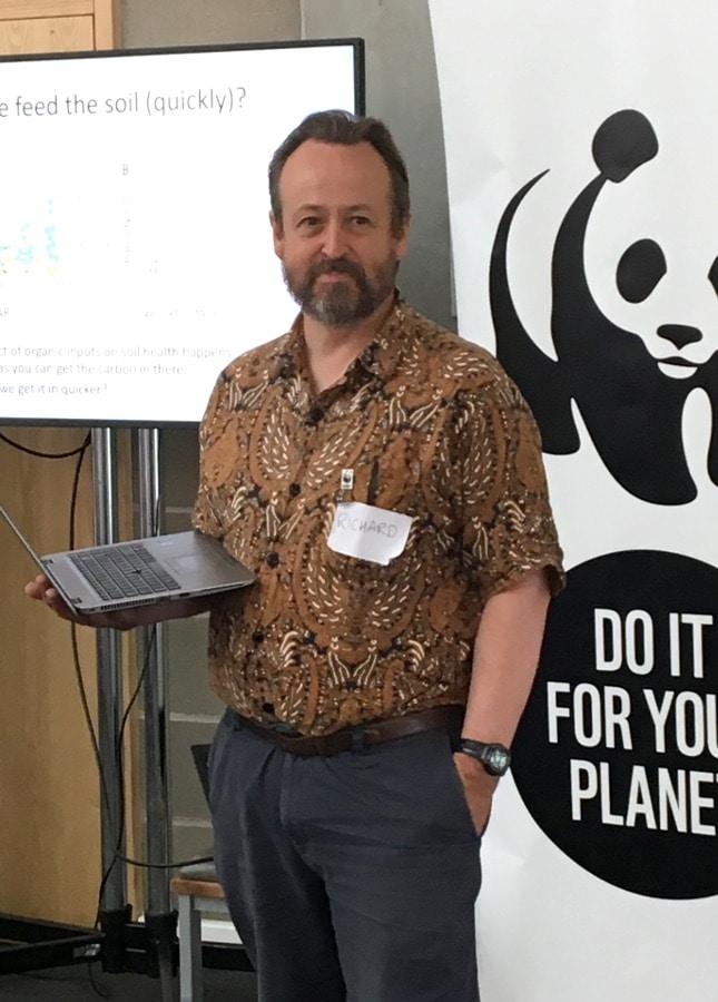 Biodiversity expert Richard Perkins of WWF