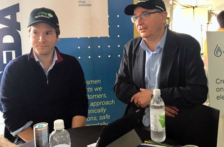 TimacAgro at Ag in Motion 2019 - Simon Jolette-Riopel and Dr Jose Maria