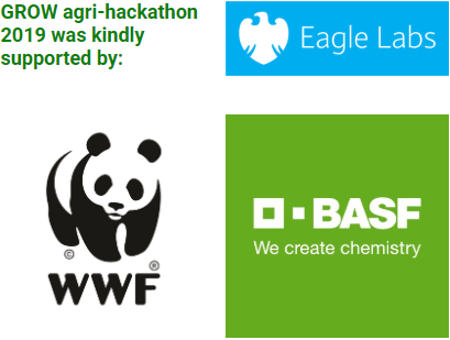GROW Agri-Hackathon sponsors block