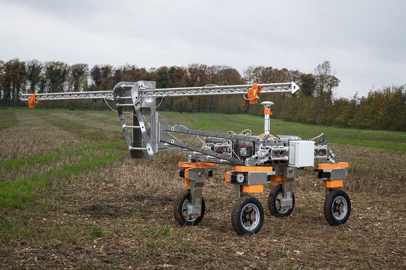 Small Robot Company's next generation Tom design at Leckford Estate