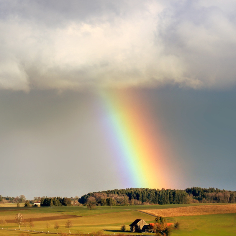Rainbow - is it possible to predict extreme weather events?