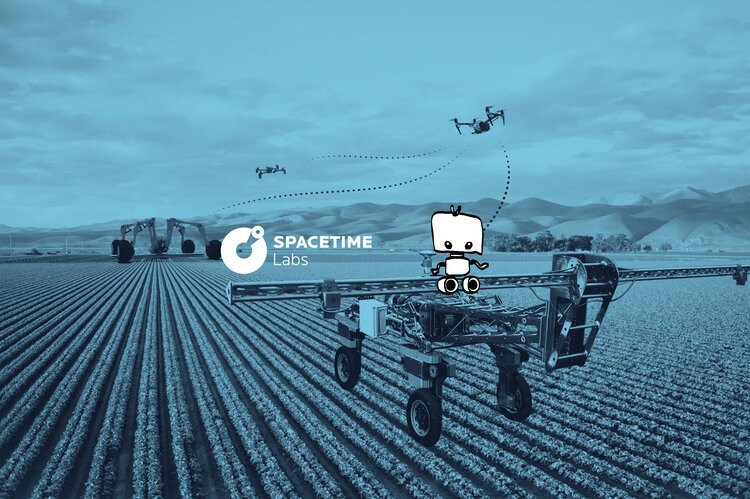 per plant farming approach by SpaceTime Labs Small Robot Company
