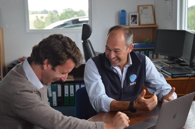 Daniel Jolly, Head of Business Development at YAGRO, and John Barrett, Director at Sentry Ltd