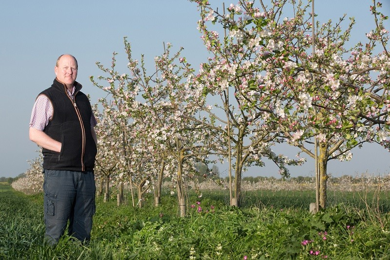 Stephen Briggs manages 52 acres of agroforestry in Cambridgeshire