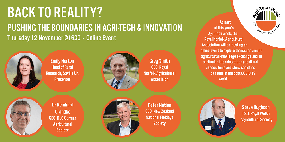 Agri-Tech Week 2020 RNAA