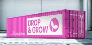 Drop & Grow container farm