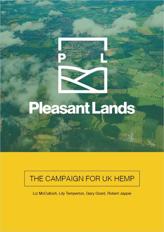 PleasantLands - The Campaign For UK Hemp cover
