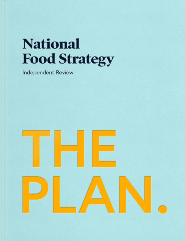 National Food Strategy cover
