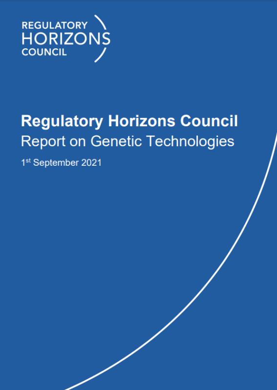Report on Genetic Technologies