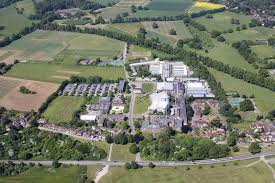 Aerial view of Rothamsted