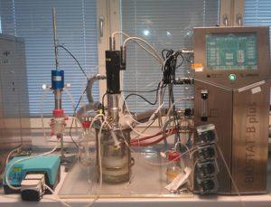 Lab scale sonic fermentation - Celbius