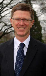 Dr David Llewellyn, Vice-Chancellor of Harper Adams University