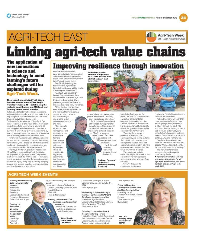 East Anglian Farming World