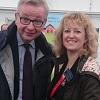 Norfolk Show Innovation Hub 2017 - Belinda Clarke with Michael Gove