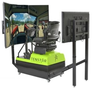 The Tenstar Tractor Simulator will be on the Innovation Trail at the Norfolk Show