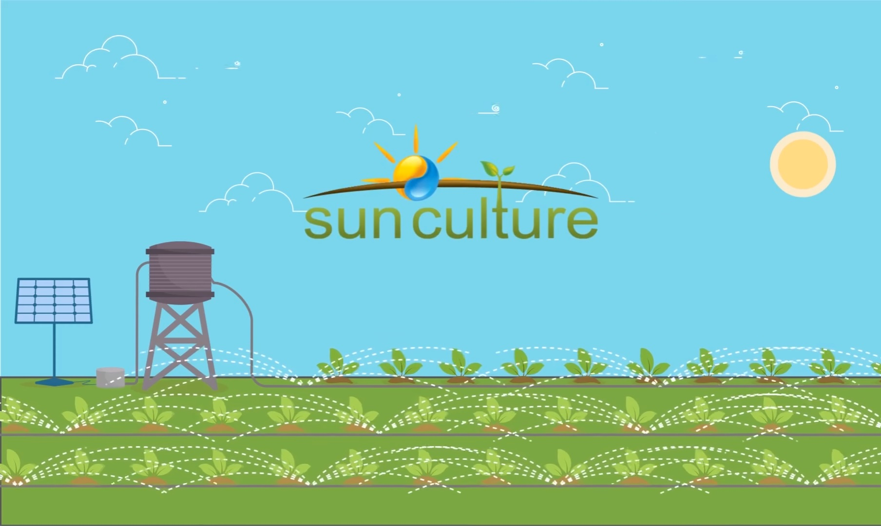 Sunculture - irrigation as a service