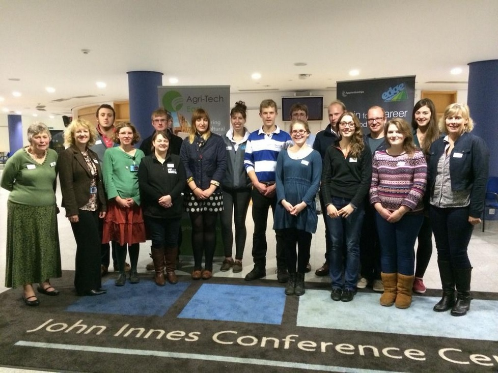 Young Innovators' Forum Attendees at John Innes Centre