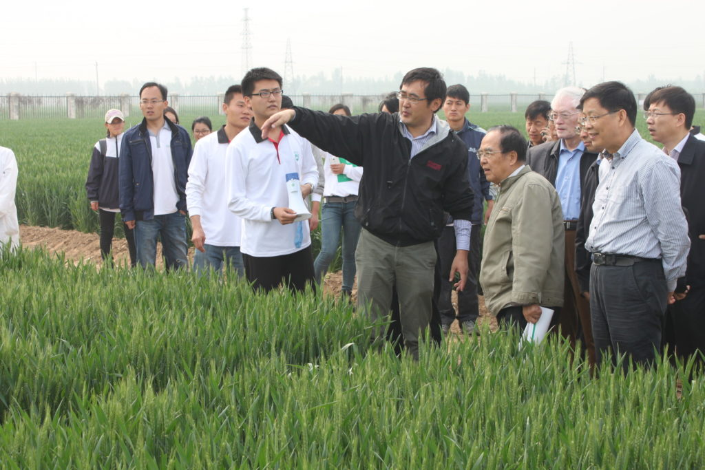 Zhenling Cui integrated soil-crop system management